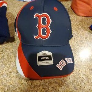 Red Sox Mens Adjustable Hat
